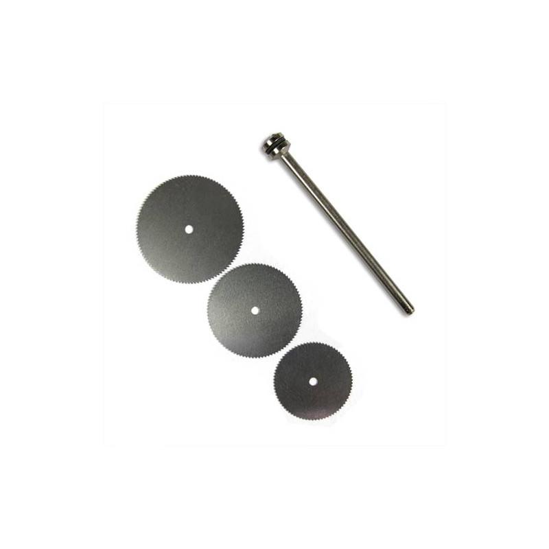 3 Disques à tronçonner en acier
