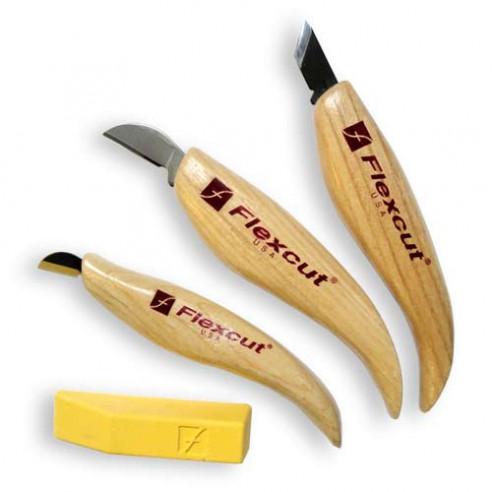 Couteaux de sculpture Chip Set FLEXCUT
