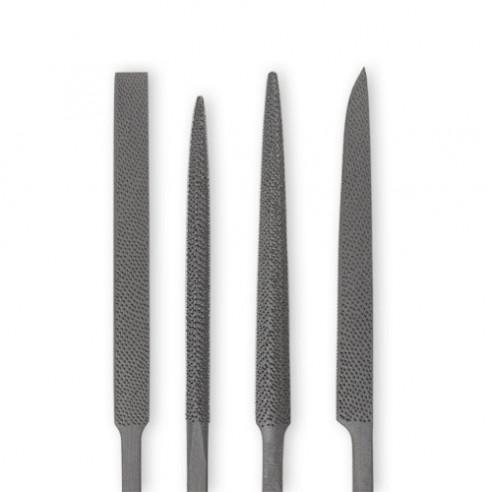 Râpe Aiguille Set de 4 outils