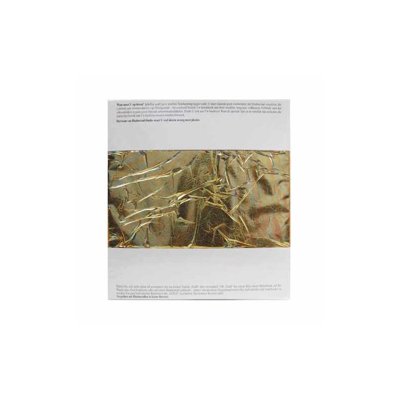 """7 Feuilles métal cuivre couleur """"automne"""""""