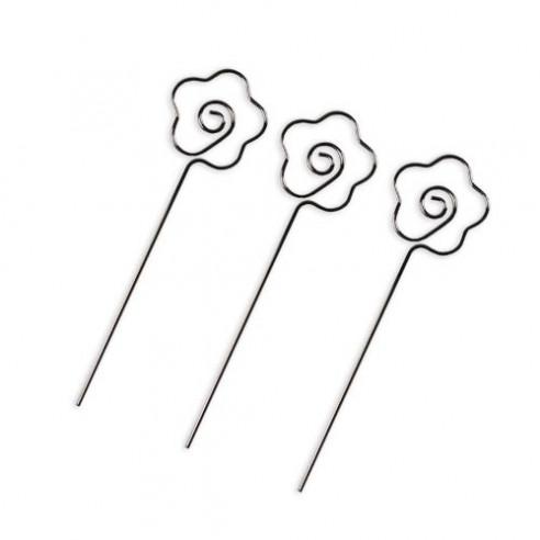 3 Porte-photo fleur