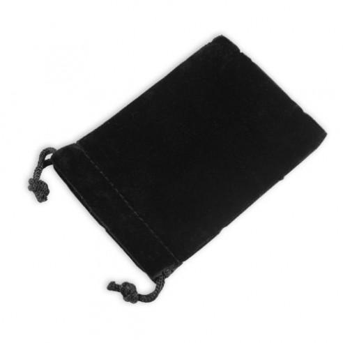 Pochette velours noir