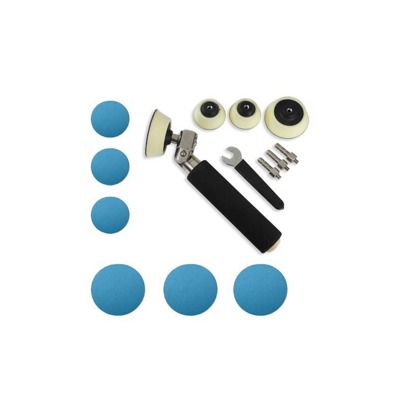 Dispositif de ponçage avec abrasifs