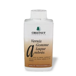 "Vernis gomme laque ambrée ""French polish"" 500 ml"