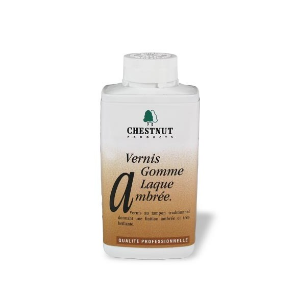 """Vernis gomme laque ambrée """"French polish"""" 500 ml"""