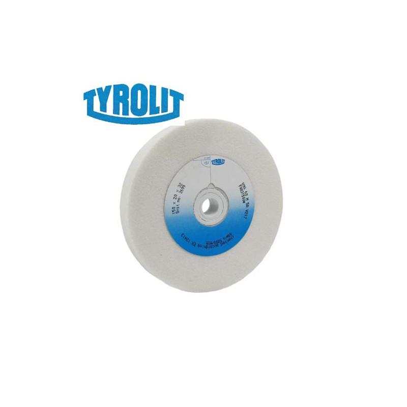 Meule TYROLIT blanche 150x20       grain 60