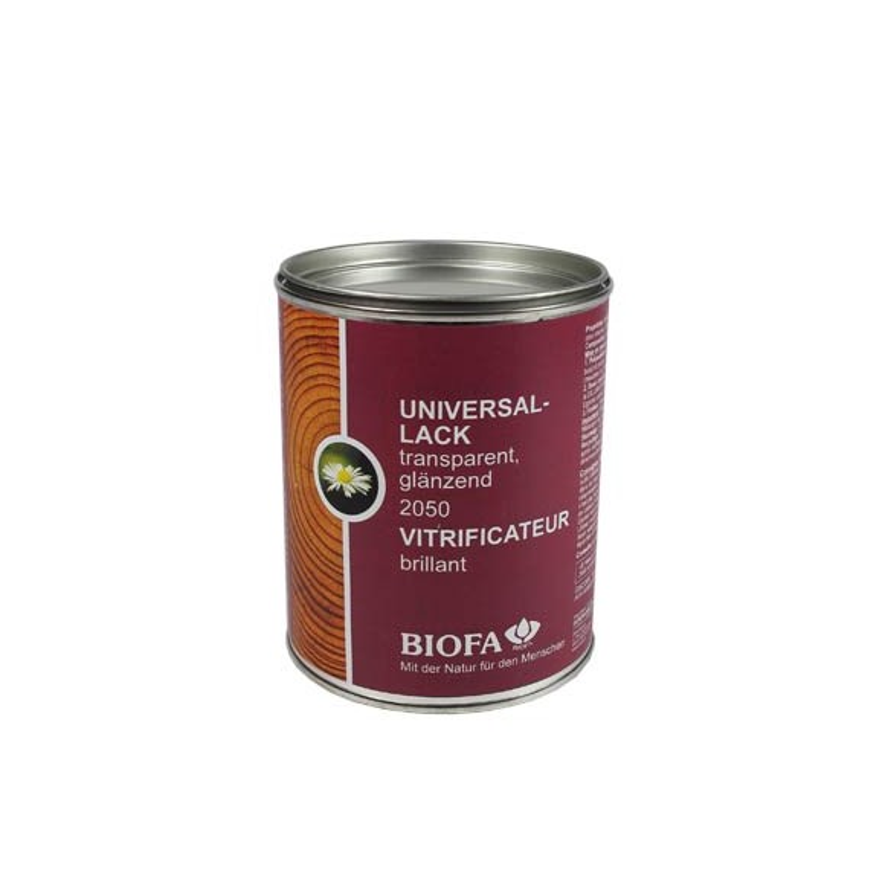 Vernis brillant BIOFA 750ml