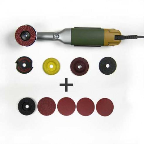 Kit de sculpture Meuleuse LWS + abrasifs