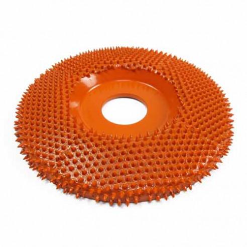 Disque SABURR plat extra gros grain 100mm